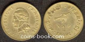 1 франк 1982