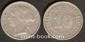 10 центов 1900