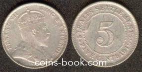 5 центов 1910