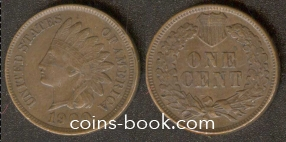 1 cent 1900