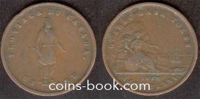 1/2 sou (1/2 penny) 1852