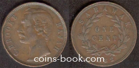 1 цент 1882