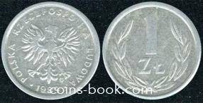1 złoty 1989