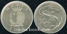 10 центов 1991