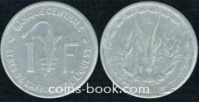 1 франк 1962