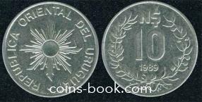 10 песо 1989