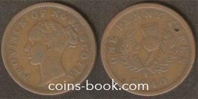 1 токен пенни 1840