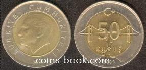 50 куруш 2009