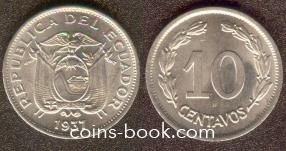10 сентаво 1937