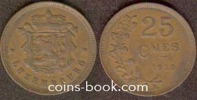 25 сантимов 1930
