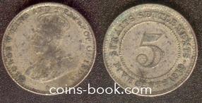 5 центов 1919