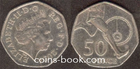 50 пенсов 2004