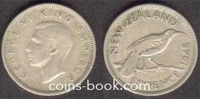 6 пенсов 1945