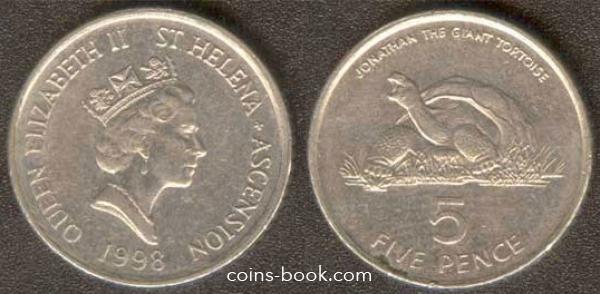 5 пенсов 1998