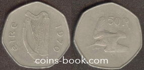 50 pence 1970
