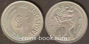 1 доллар 1968