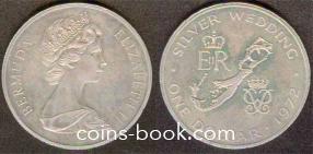 1 доллар 1972