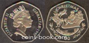50 пенсов 1997