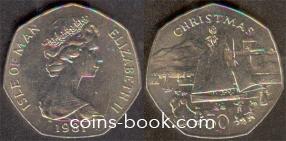50 пенсов 1981