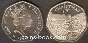 50 пенсов 1988