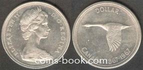 1 доллар 1967