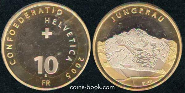 10 francs 2005