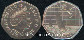 50 pence 2011