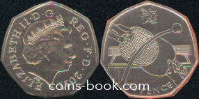 50 пенсов 2011