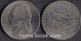 5 центов 2004