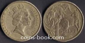 1 доллар 1985