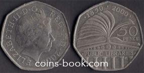 50 пенсов 2000