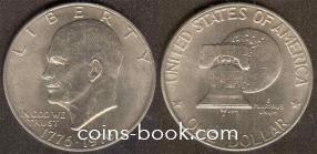 1 доллар 1976