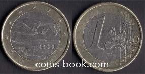 1 евро 2000