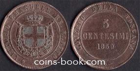 5 чентезимо 1859