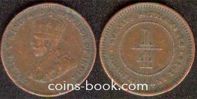 1/4 цента 1916