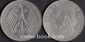 5 марок 1969
