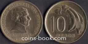 10 pesos 1968