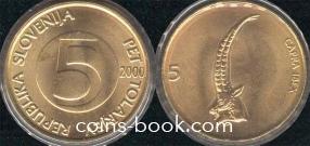 5 толаров 2000