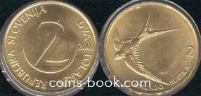 2 толара 2001
