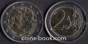 2 евро 2011