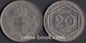 20 чентезимо 1919