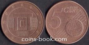 5 евроцентов 2008