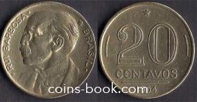 20 centavos 1954