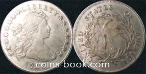 1 доллар 1796