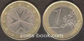 1 евро 2008