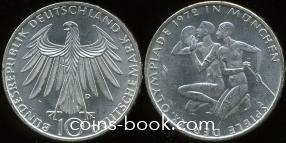 10 марок 1972