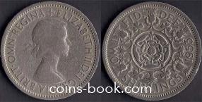2 шиллинга 1953