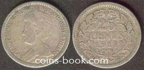 25 центов 1914