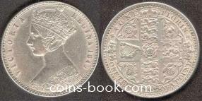 1 florin 1849