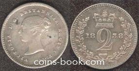 2 пенса 1838
